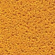 Miyuki Rocailles Beads 1,5mm 4453 Duracoat opaque dyed Yellow ca 11gr