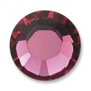 Swarovski Elements Chaton Steine SS39 Fuchsia unfoiled