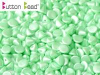 Button Beads 4mm Pastel Light Green ca 50 Stück