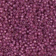 Miyuki Rocailles Beads 1,5mm 4247 Duracoat Silverlined Fuchsia ca 11gr