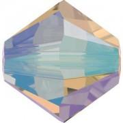 Swarovski Elements Perlen Bicones 3mm Light Colorado Topaz Shimmer 2X beschichtet 100 Stück