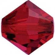 Swarovski Elements Perlen Bicones 4mm Scarlet 100 Stück