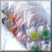 Perlen Mix inclusive Zubehör MIX SONDERPREIS 10 Stück in allen Farben