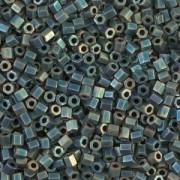 Miyuki Hexagon Beads 8C-2008 3mm matt metallic rainbow Patina ca 11gr