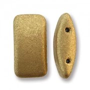 Carrier Beads 9x17mm Pale Gold 15 Stck