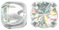Swarovski Elements Chaton Montees 6mm Crystal 10 Stück