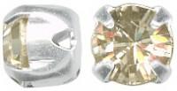 Swarovski Elements Chaton Montees 6mm Crystal Golden Shadow 10 Stück