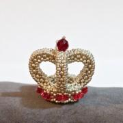 Anleitung Perlen fädeln - Corona