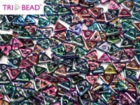 TRI Beads 4mm 00030-95100 Crystal Magic Blue ca 10 gr