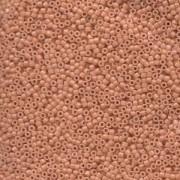 Miyuki Delica Beads 1,6mm DB1363 dyed opaque Peach ca 5 gr