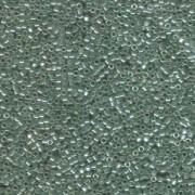 Miyuki Delica Beads 1,6mm DB1484 Transparent Luster Light Moss Green ca 5gr