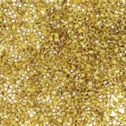 Miyuki Delica Beads 1,6mm DB2262 Picasso matt Canary Yellow ca 5gr