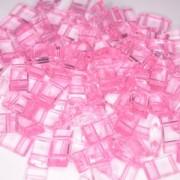 Acryl Trägerperlen 18x9x5mm Pink 30 Stück