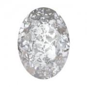Swarovski Elements Steine Oval 18x13mm Silver Patina 1 Stück
