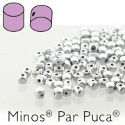 Minos par Puca ® 2,5x3mm 00030-01700 Silver Aluminium matt ca 10 gr
