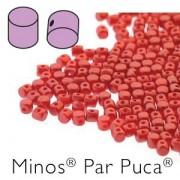 Minos par Puca ® 2,5x3mm 02010-25010 Pastel Dark Coral ca 10 gr