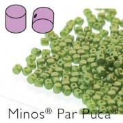 Minos par Puca ® 2,5x3mm 02010-25034 Pastel Olivine ca 10 gr