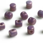 Minos par Puca ® 2,5x3mm 03000-15726 Opak Mix Amethyst Gold Ceramic Look ca 10 gr