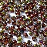 Miyuki Tropfen Beads 3,4mm Czech Coating 55016 Crystal Magic Apple ca 10 gr