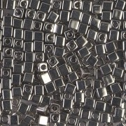 Miyuki Würfel Beads, Cube, Square Beads 3mm 0190 plated Nickel 20gr