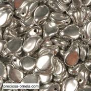 Preciosa PIP Beads 5x7mm 23980-27000 Jet Labrador ca 60 Stück