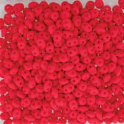 Preciosa SuperDuo Perlen 2,5x5mm Neon Cherry DU0525144-104 ca 24gr