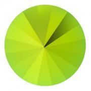 Swarovski Elements Rivolis 14mm Crystal Scarabaeus Green F 1 Stück