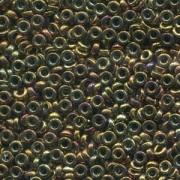 Miyuki Spacer Beads 2,2X1mm metallic Violet Gold ca 10 gr