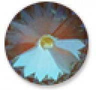 Swarovski Elements Stein Rivoli 14mm Ultra Cocoa AB beschichtet 6 Stück