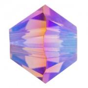 Swarovski Elements Perlen Bicones 4mm Blush Rose AB2X beschichtet 100 Stück