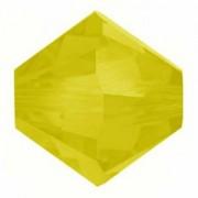 Swarovski Elements Perlen Bicones 4mm Yellow Opal 100 Stück