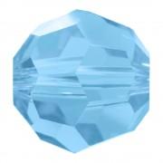 Swarovski Elements Perlen Kugeln 5mm Aquamarine 10 Stück
