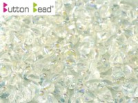 Button Beads 4mm Rainbow Crystal ca 50 Stück