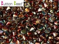 Button Beads 4mm Crystal Magic Wine ca 50 Stück