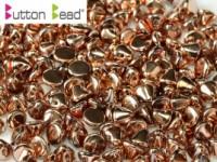 Button Beads 4mm Crystal Full Capri Gold ca 50 Stück