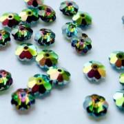 Swarovski Elements Blüten 6mm Crystal Vitrail Medium 24 Stück