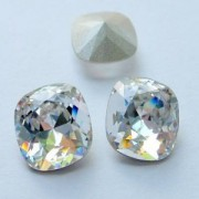 Swarovski Elements Cabochons carres 14mm Crystal F