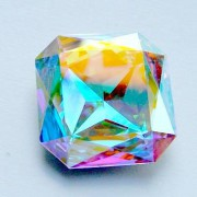 Swarovski Elements Cabochons carres 23mm Crystal ABF