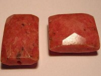 Rhodonite Rechteck facetiert 18x25mm