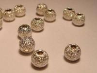 Kugel 925er Silber 4mm satiniert