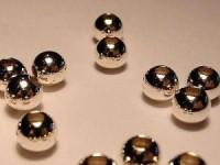 Kugel 925er Silber 6mm 5 Stück