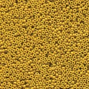 Miyuki Rocailles Beads 1,5mm 4456 Duracoat opaque dyed Light Olive ca 11gr