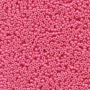 Miyuki Rocailles Beads 2mm 4467 Duracoat opaque dyed Party Pink ca 12gr
