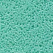 Miyuki Rocailles Beads 1,5mm 4472 Duracoat opaque dyed Seafoam ca 11gr