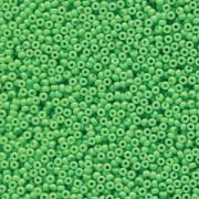 Miyuki Rocailles Beads 2mm 4476 Duracoat opaque dyed Grass ca 12gr