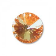 Swarovski Elements Rivolis 14mm Ultra Orange AB 1Stück