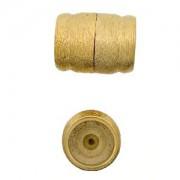Magnetverschluss 23 Karat Goldauflage ca26 x 20 mm