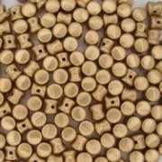 Pellet Beads 4x6mm Aztec Gold 50 Stück