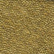 Miyuki Rocailles Beads 4mm 193 24Karat light Gold Plated 20gr
