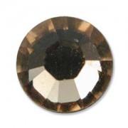 Swarovski Elements Chaton Steine SS39 Light Smoked Topaz foiled